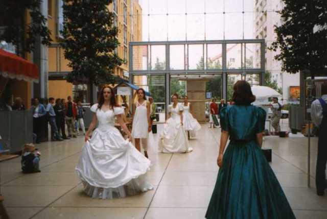 1998 Modenschau im WTC Dresden