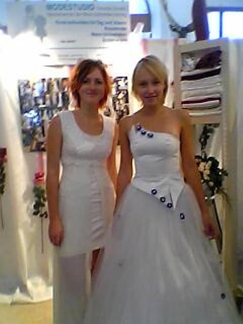 2003 Lehrlinge Vicky und Antje