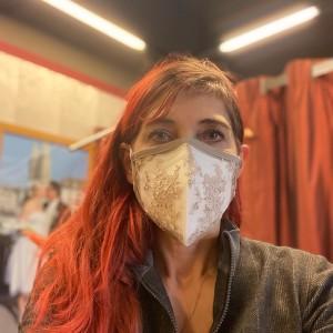 Spitzen-Maske
