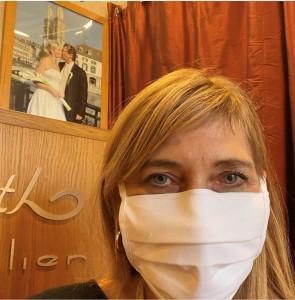Atemschutzmaske für Abwehr der Corona-Viren