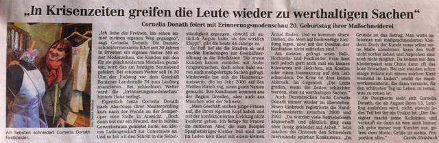 Dresdener Neueste Nachrichten, 20.4.2013