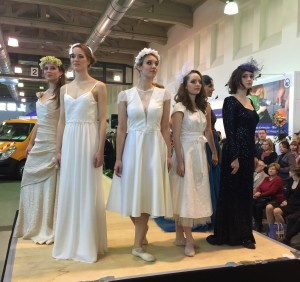 Modenschau der Schneiderinnung auf der Meisterfeier 2015
