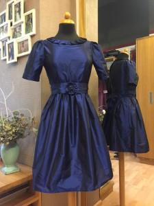 Tochterkleid blau