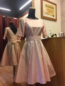 Tochterkleid rosé