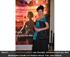 Ballkleid für den SemperOpernball 2014